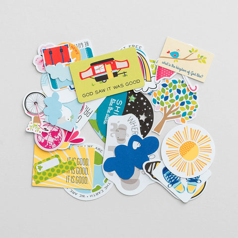 Product Image: Illustrated Faith - Go - 31-Piece Die Cut Prompts