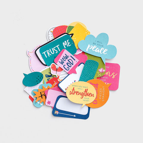 Product Image: Illustrated Faith - Messages from God - 30-Piece Paper Pieces