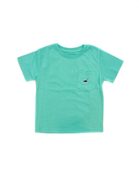 Lil' Ducklings S/S Embroidered Pocket Tee