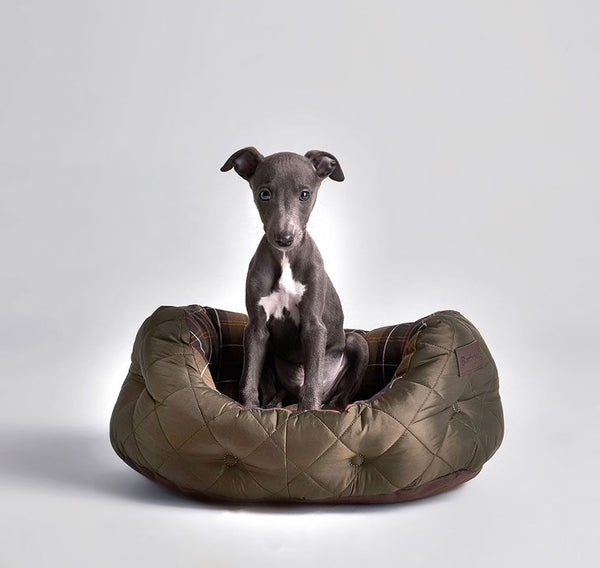 Barbour Quilted Dog Beds