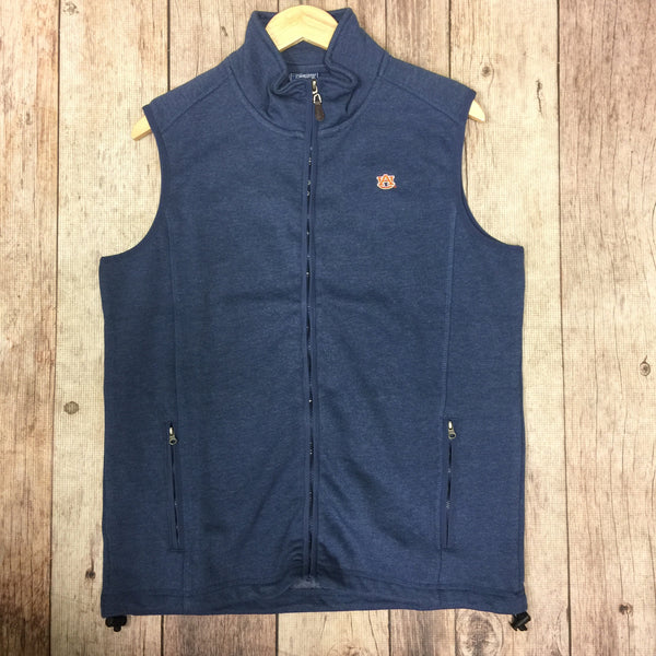 TigerWear Comfort Vest in Blue with AU Logo