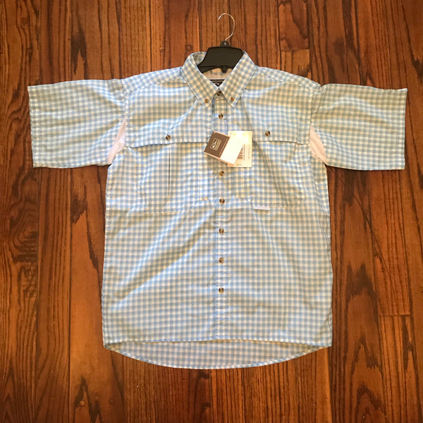 Featherlite Plaid Wingshooter's Shirt S/S