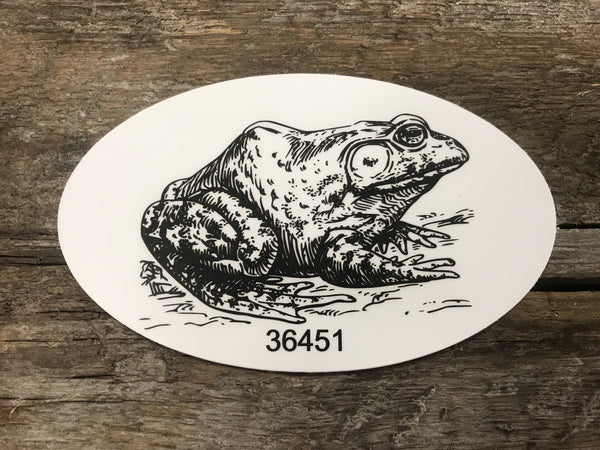 Bullfrog Stickers