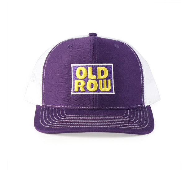 Old Row Mesh Back Trucker Hat