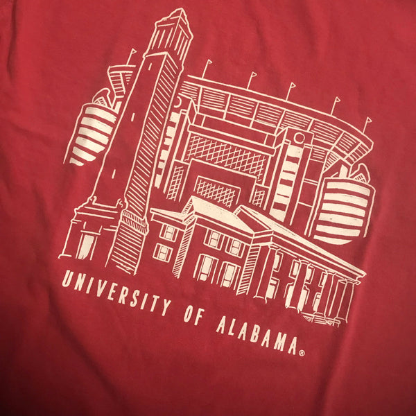 TuskWear Alabama Line Sketch S/S T-Shirt