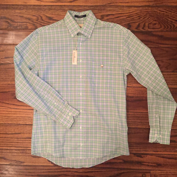 Cotton Brothers Plaid Sport Shirts