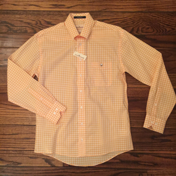 Cotton Brothers Gingham Sport Shirt Medium