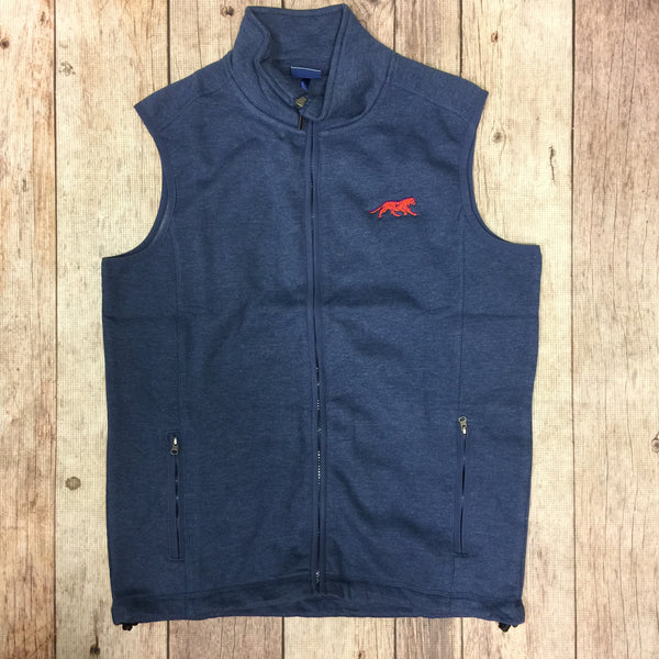 TigerWear Comfort Vest in Blue with Tiger Logo