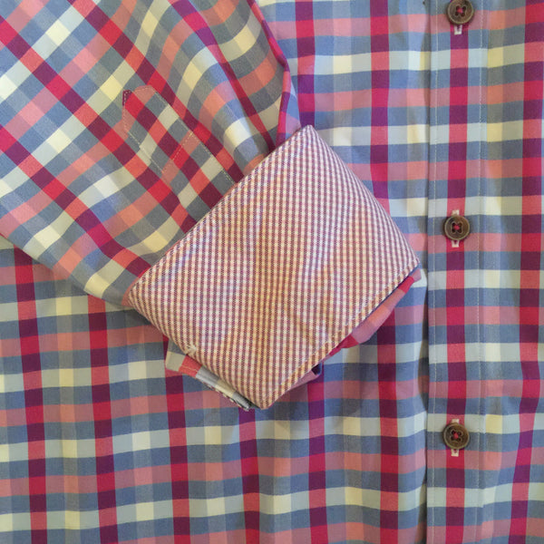 James Tattersall Berry Hartford Dress Shirt
