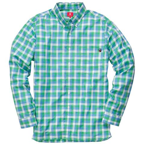Southern Proper Southern Sport Shirt in Green