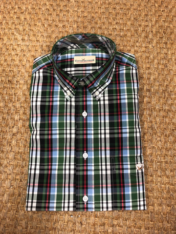Product Image: Cotton Brothers Aiken Plaid Sport Shirt