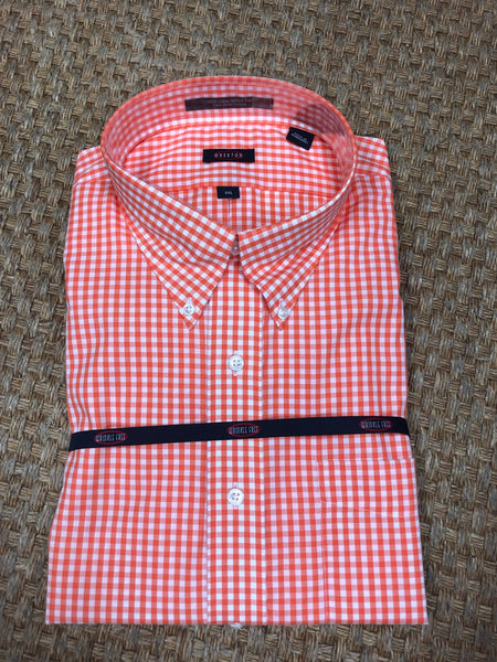 Overton Long Sleeve Gingham Dress Shirt