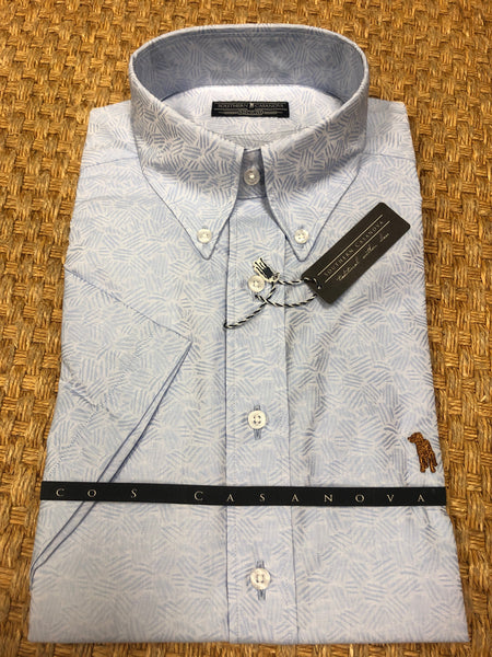 Button Down Island Tribal S/S