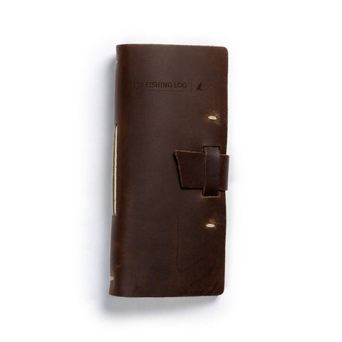 Product Image: Leather Fly Fishing Log