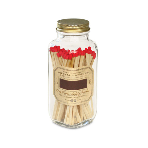 Product Image: Match Bottle - Red Antique