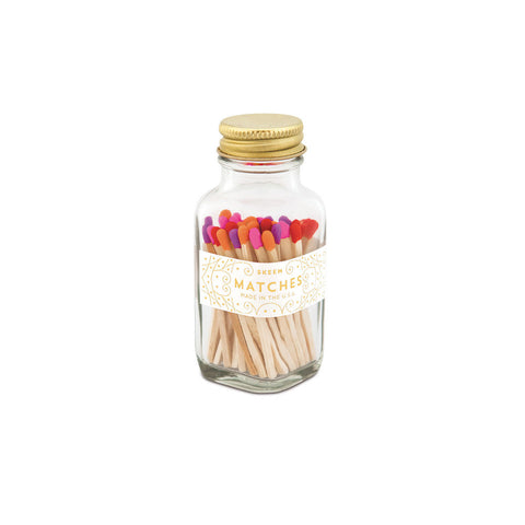 Product Image: Mini Party Matches - Orange Multi