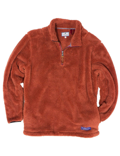 YOUTH Range Pullover in Rust