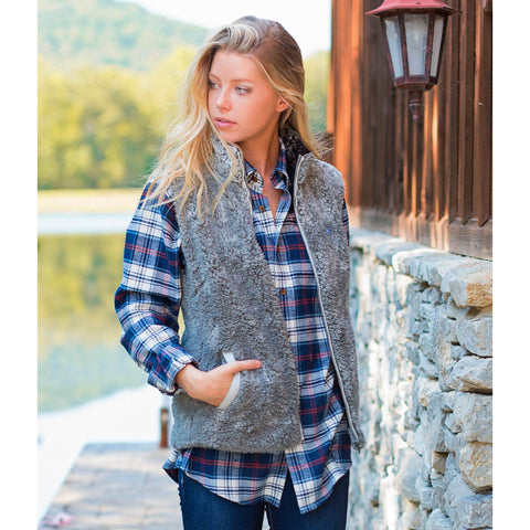 Product Image: Heathered Sherpa Vest