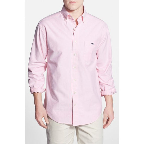 Vineyard Vines Whale Shirt Solid Oxford Button Down