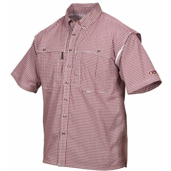 Drake Game Day Plaid Short Sleeve
