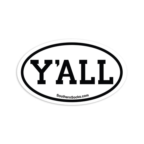 Product Image: Y'ALL Staycation Sticker