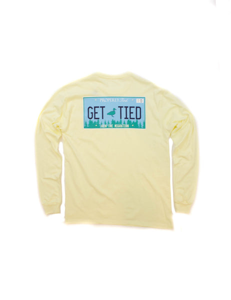 Lil' Ducklings Get Tied L/S Tee