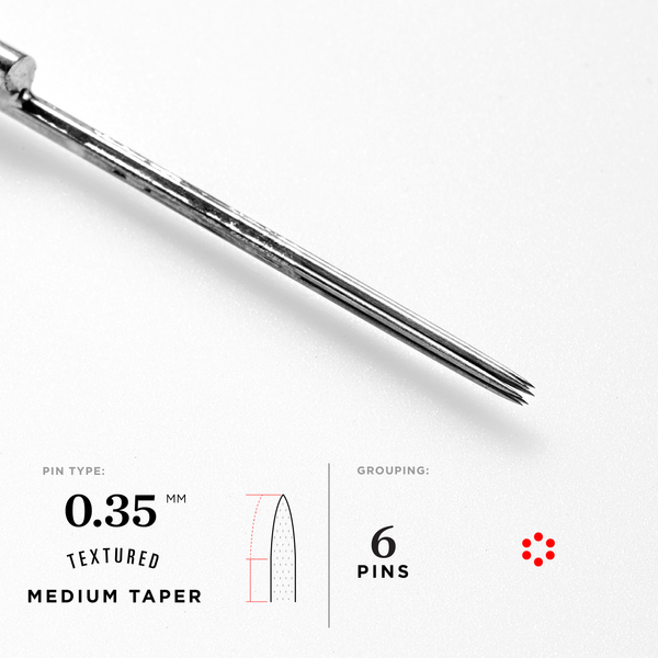 Medium Taper Hollow Hybrid Needles