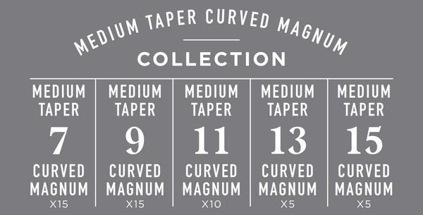 Medium Taper Curved Magnum Collection