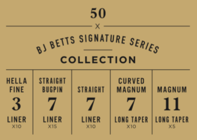 BJ Betts Signature Series Collection
