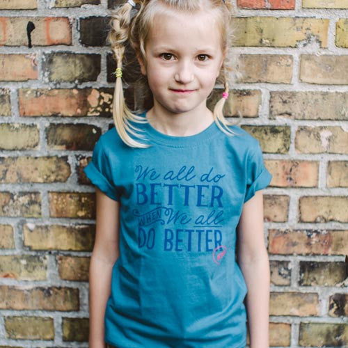 WE ALL DO BETTER t-shirt, kids DGK