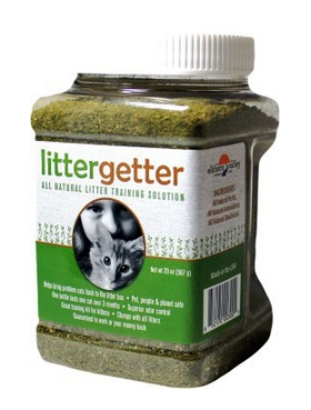 Litter Box Training Solution for Kittens and Problem Cats.