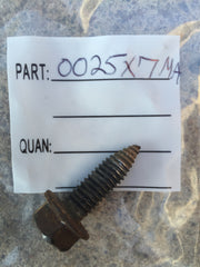 0025X7MA *USED* Murray Screw - Engine Mount 25X7, 25X7MA