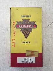 "10023 Clinton Piston Ring Set .020"" Oversize.  Alternate P/N 149-160, 237-121-500"