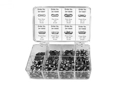 Rotary 10722. ASSORTMENT SAW CHAIN PARTS FITS CARLTON CHAIN
