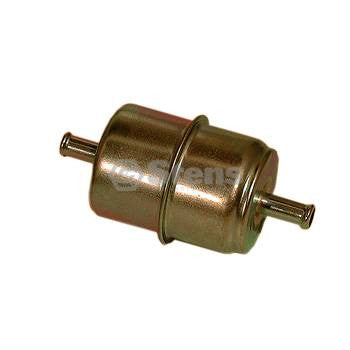 "STENS 120-410 Metal Fuel Filter / Briggs & Stratton 492836.  Fits 5/16"" Fuel Line, 10 Micron."