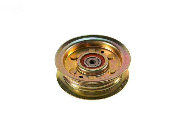 Rotary 15607.  FLAT IDLER PULLEY replaces John Deere AM124346