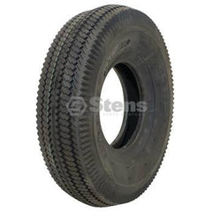 Stens 160-000.  Tire / 4.10x3.50-5 Saw Tooth 2 Ply
