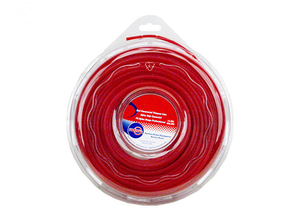 Rotary 5927. LINE TRIMMER .095 X 1 LB. DONUT RED COMMERCIAL