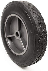 15856 Ardisam Wheel Grey 8 in OD X 5/8 in ID Rubber Earthquake Vector Compact Tiller