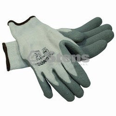 STENS 751-141.  Gray Thermal Glove / Latex Palm Coated, Large