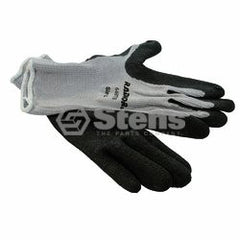 STENS 751-151.  Coated Work Glove / Gray String Knit, Large