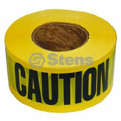 STENS 751-527.  Barricade Caution Tape / 2 Mil. Black/Yellow