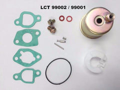99002 LCT - Carburetor Repair Kit 136cc, 208cc, 254cc engines.  LCT / Lauson.  Replaces LCT 99001.