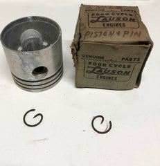 23963 Piston and Pin Set Std. Original Lauson NOS
