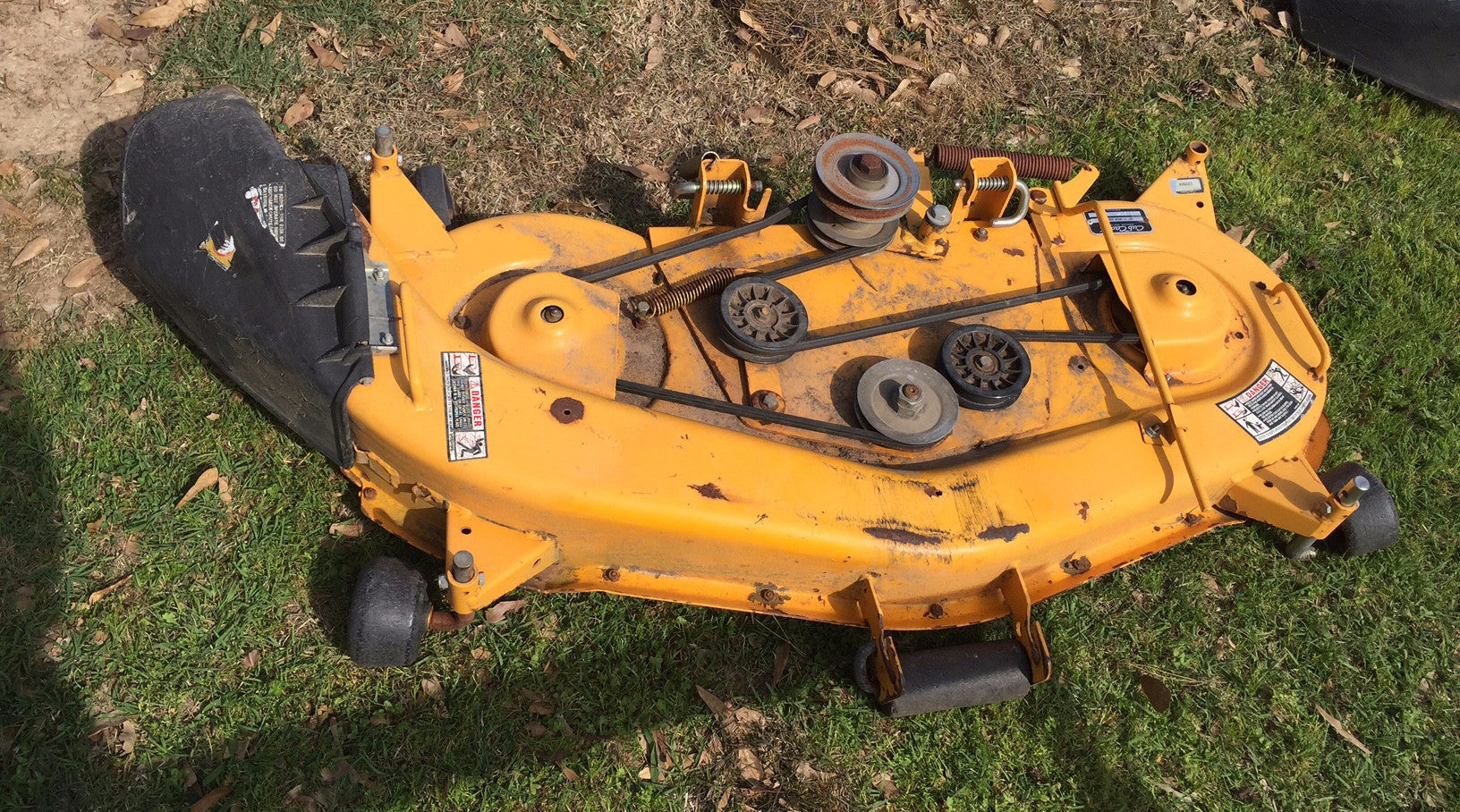2206 Cub Cadet Wiring Diagram Lawn Mower 759 3732 46 Used 300 Deck Assembly 0716 With Rh Partmartusa Com International Tractor
