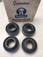 11213965 Wacker Genuine Part Set of 4 1-12-1-3965, 3965 Bearing / Bushing / Collar Vintage NOS