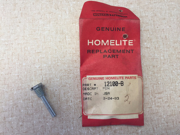 12100-B HOMELITE PIN MOUNT - GENUINE OEM PART *NEW OLD STOCK*