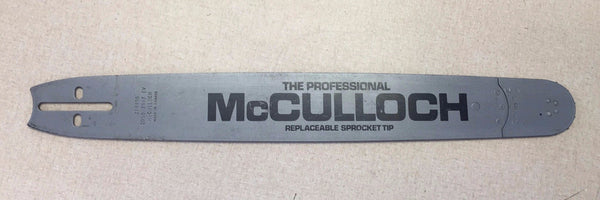 "218495 McCulloch Replaceable Sprocket Tip 20"" Bar .325 pitch .050 ga Vintage NOS"