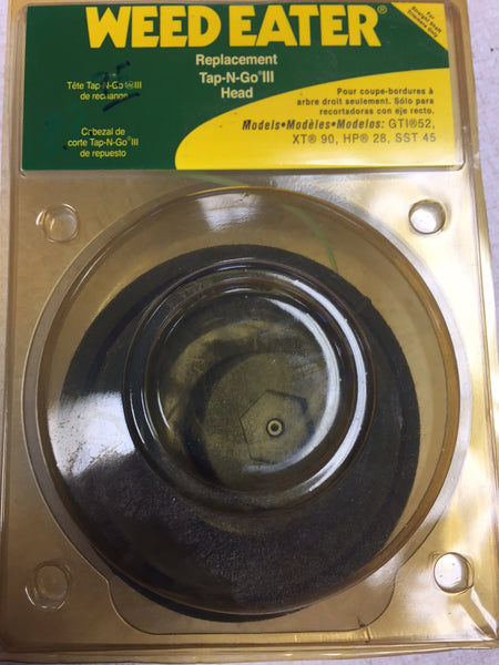 "952701657 TAP-N-GO III REPLACEMENT TRIMMER HEAD (25"" OF .080"" DIAMETER)"
