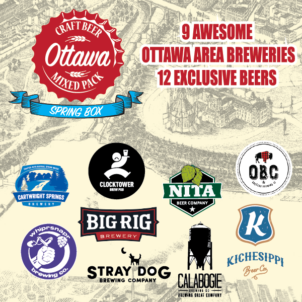 Ottawa Craft Beer Mixed Pack - Spring 2019